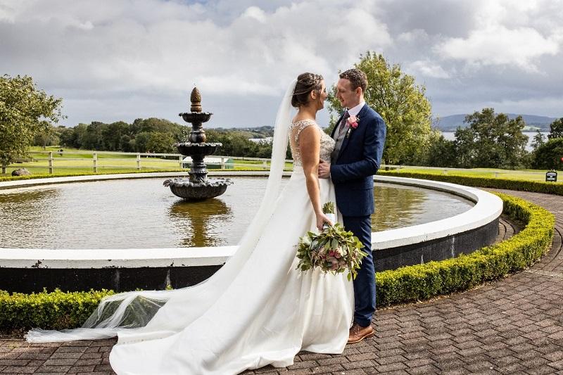 Ciara & David Newman wedding at Crover House, Cavan